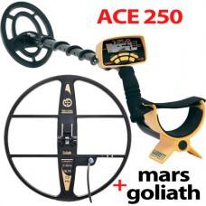 Металлоискатель ACE 250 с катушкой Mars Goliath