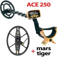 Металлоискатель ACE 250 с катушкой Mars Tiger