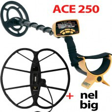 Металлоискатель ACE 250 с катушкой NEL Big