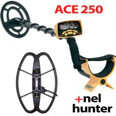 Металлоискатель ACE 250 с катушкой NEL Hunter