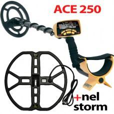 Металлоискатель Garrett ACE 250 + NEL Storm ACE