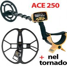 Металлоискатель Garrett ACE 250 + NEL Tornado ACE