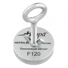 Поисковый магнит Непра F120, односторонний