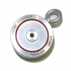 Поисковый магнит Редмаг 2F400, двухсторонний