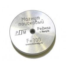 Поисковый магнит Редмаг F300, односторонний