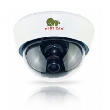 Partizan CDM-VF32HQ-7 v1.1 black/white купольная вариофокальная камера