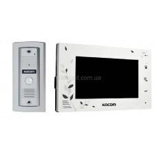 Комплект домофона Kocom KCV-A374 SD White и видеопанели Kocom KC-MC 20