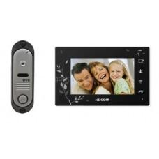 Комплект домофона Kocom KCV-A374 SD Black и видеопанели Эликс DVC-311C